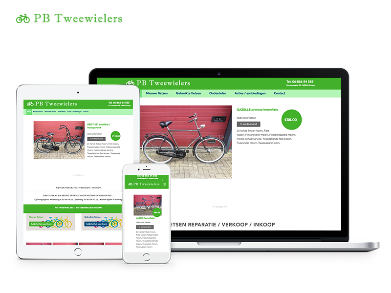 PB Tweewielers | Webdesigner Stede Broec | Project Direct | Webdesign Stede Broec | Website bouwen Stede Broec | Wordpress Stede Broec | Grafische vormgever Stede Broec | SEO Stede Broec | Hosting | Wordpress training | Logo design Hoorn | SSL Certificaten | Website onderhoud | Timo van Tilburg